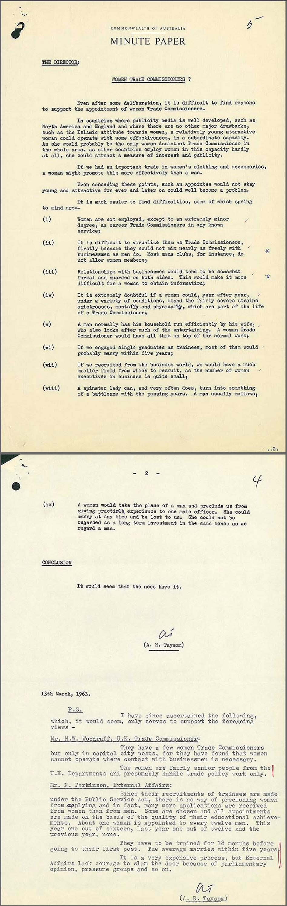 archive letter