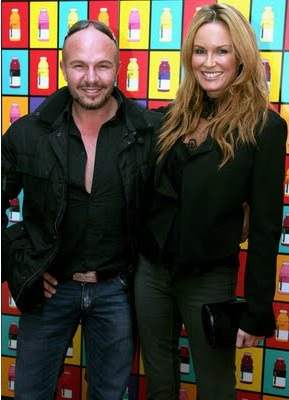Alex Perry and Charlotte Dawson