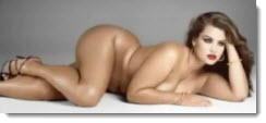 plus size nude