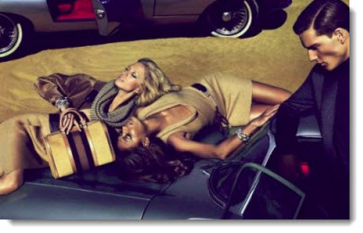 gucci girls on car