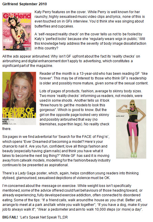 girls mags page 1