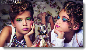 two girls perfume