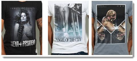 three nena pasedena tshirts