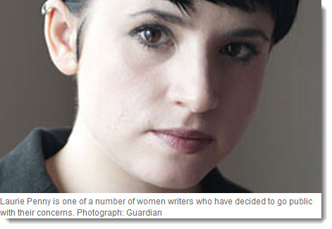 The columnist Laurie Penny,