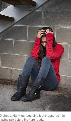 girl distressed
