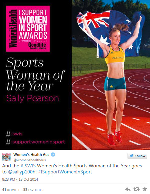 support women in sport