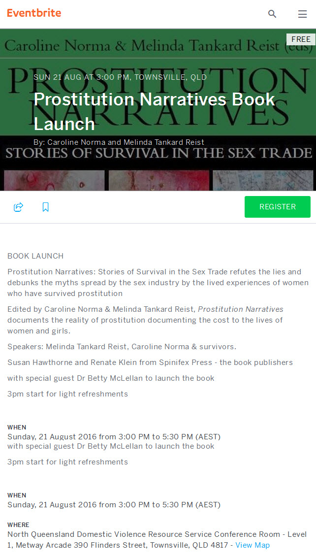 townsville book launch
