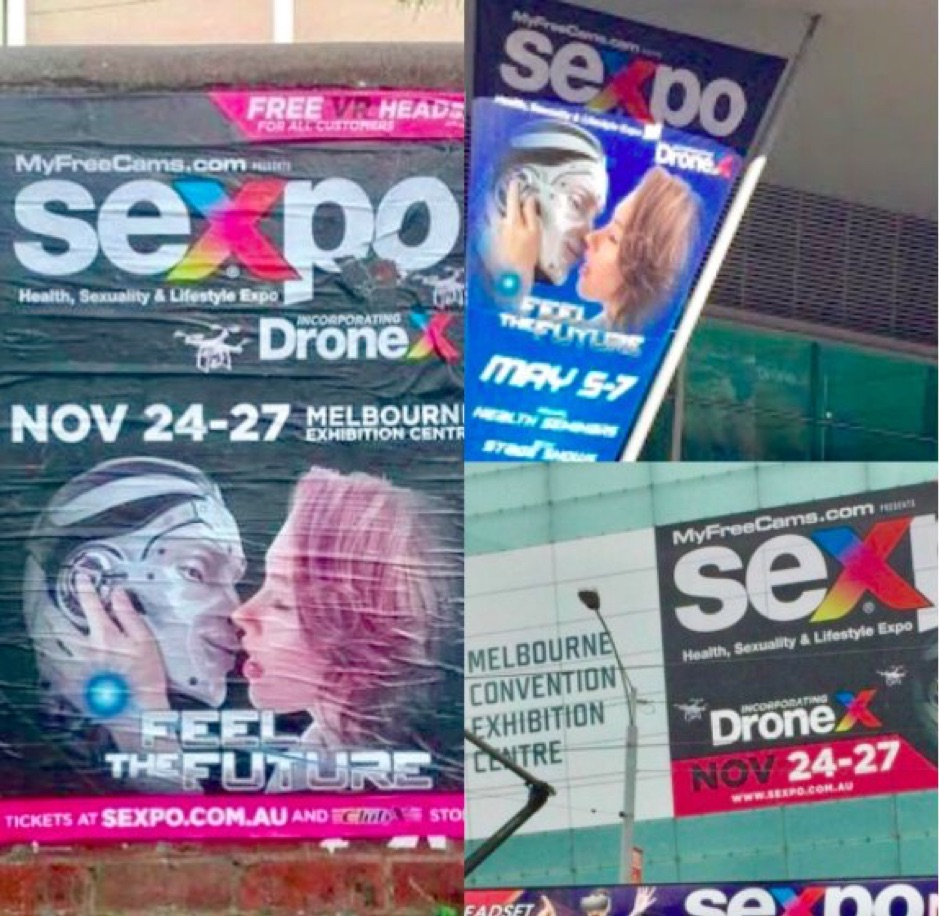 sexpo outdoor advertising